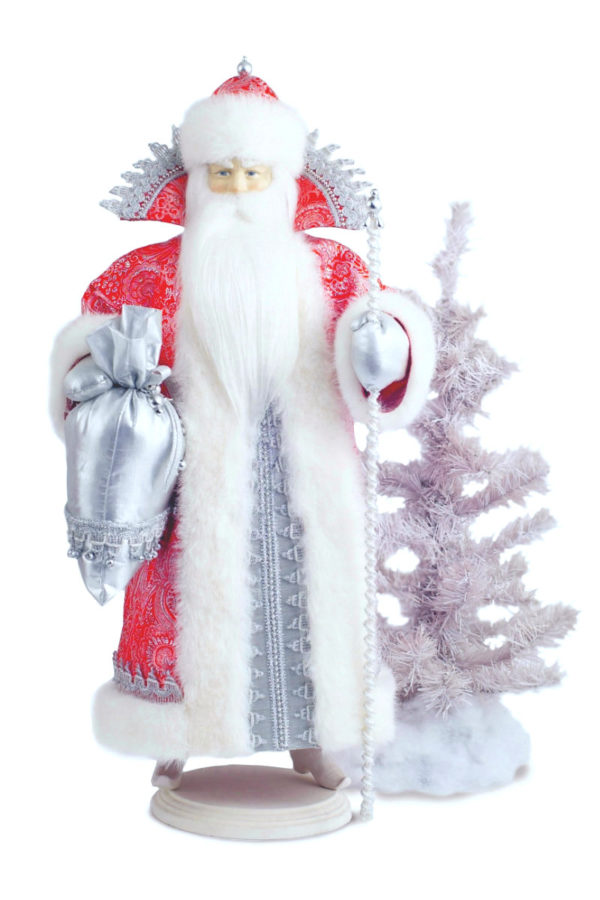 кукла дед мороз интерьерный