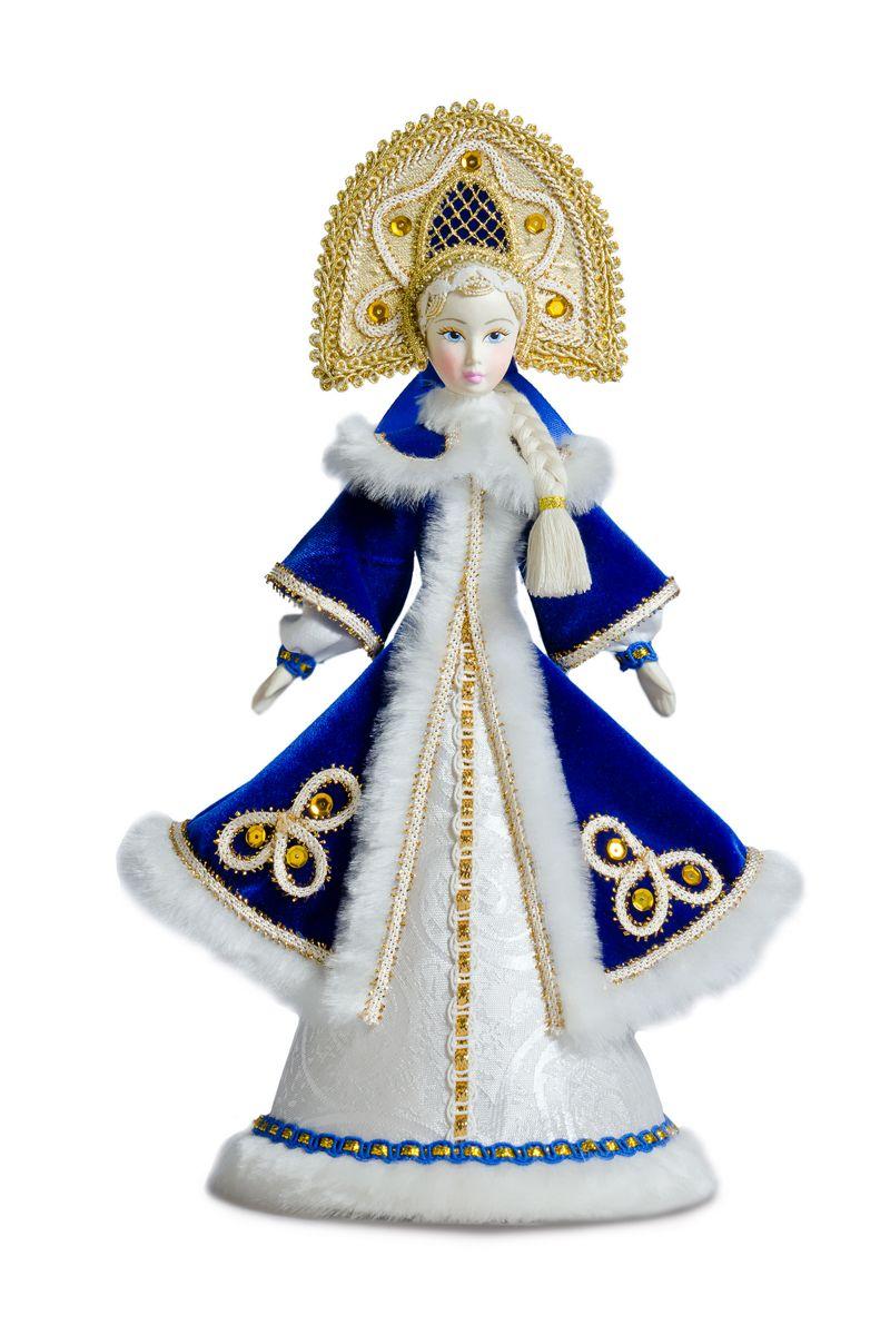 кукла снегурочка интерьерная подарочная