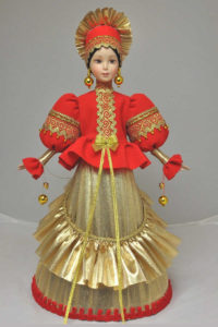 Куклы-конфетницы большие