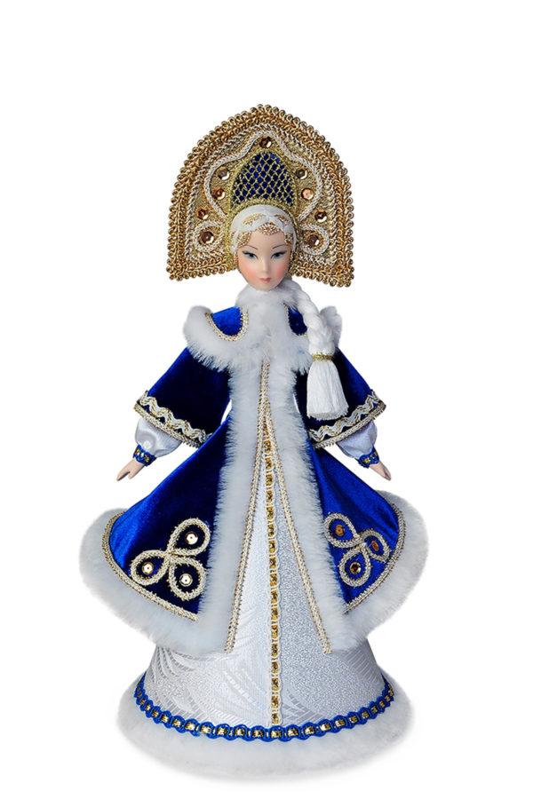 Кукла Снегурочка коллекционные куклы фарфоровые