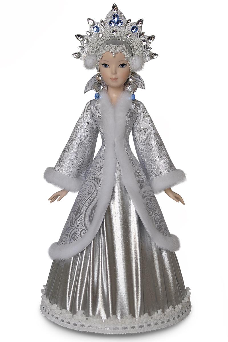 Кукла снегурочка. Интерьерная фарфоровая кукла