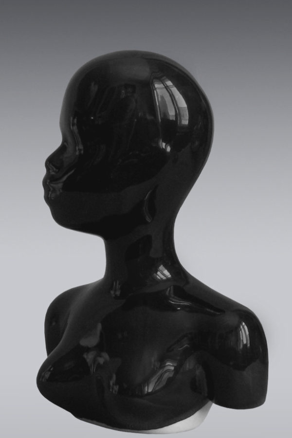 фарфоровая голова куклы черная купить