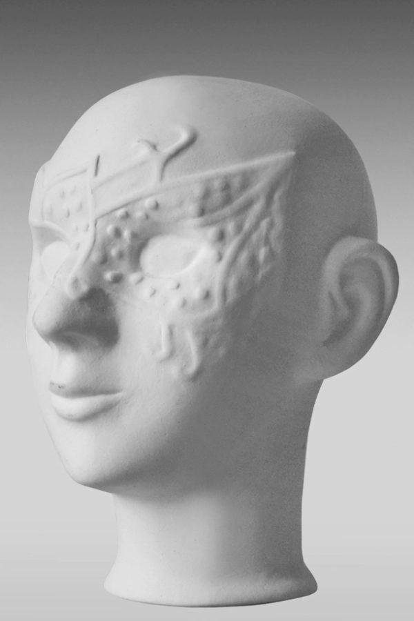 фарфоровая голова куклы купить в маске