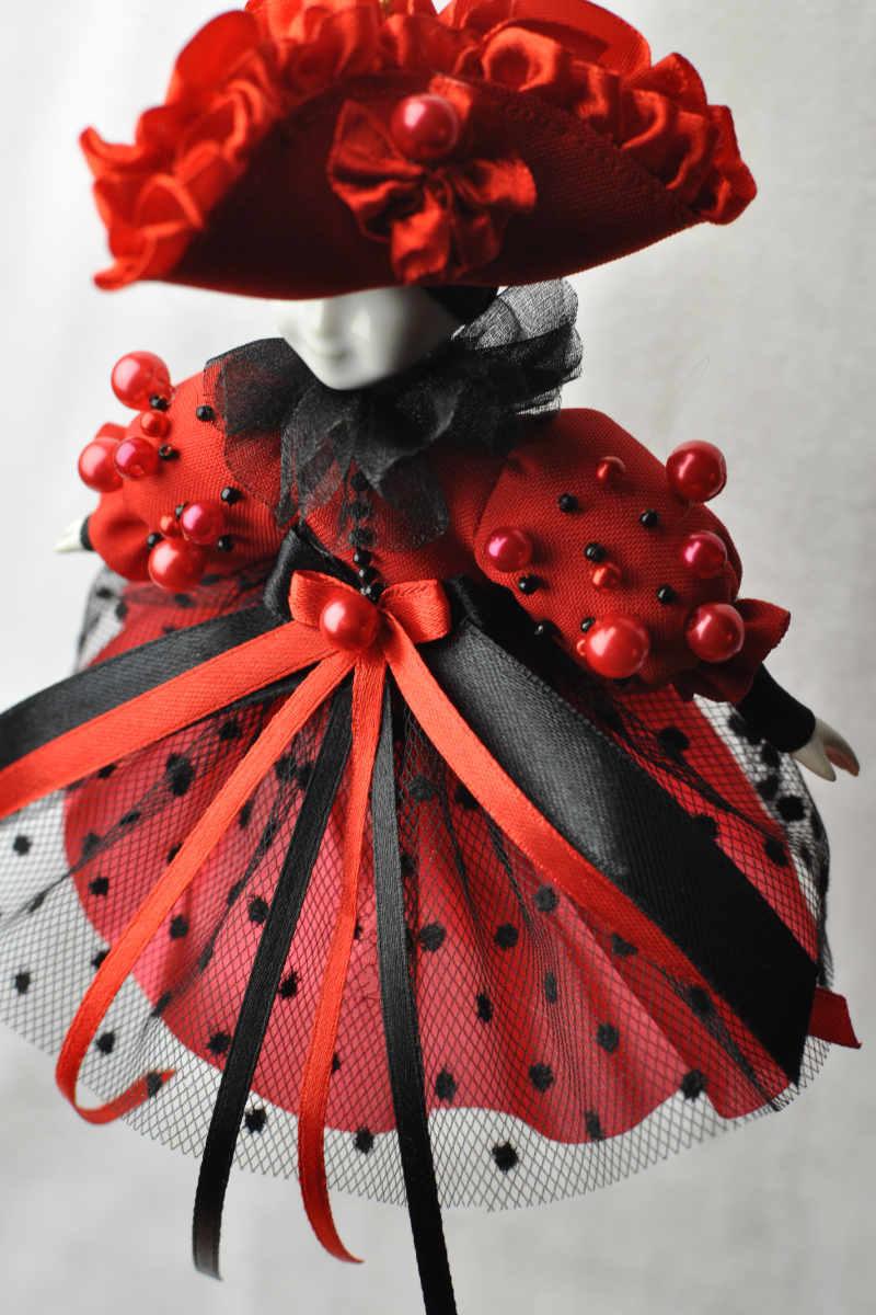 елочные игрушки стеклянные фабрика кукла коломбина