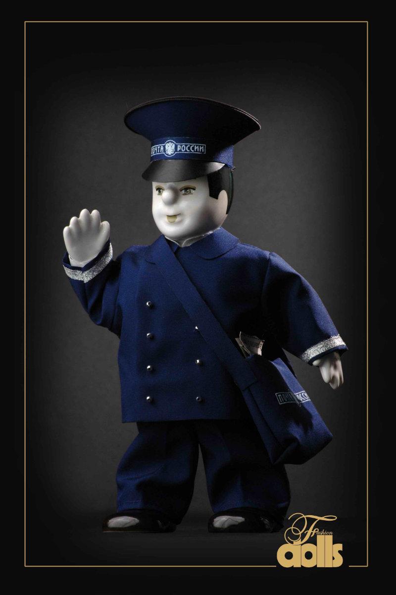 кукла почтальон