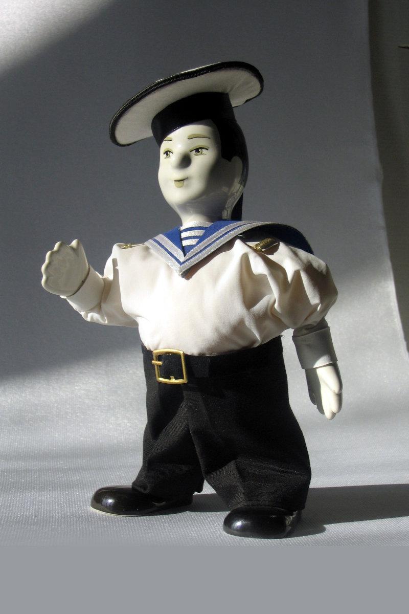 кукла моряк