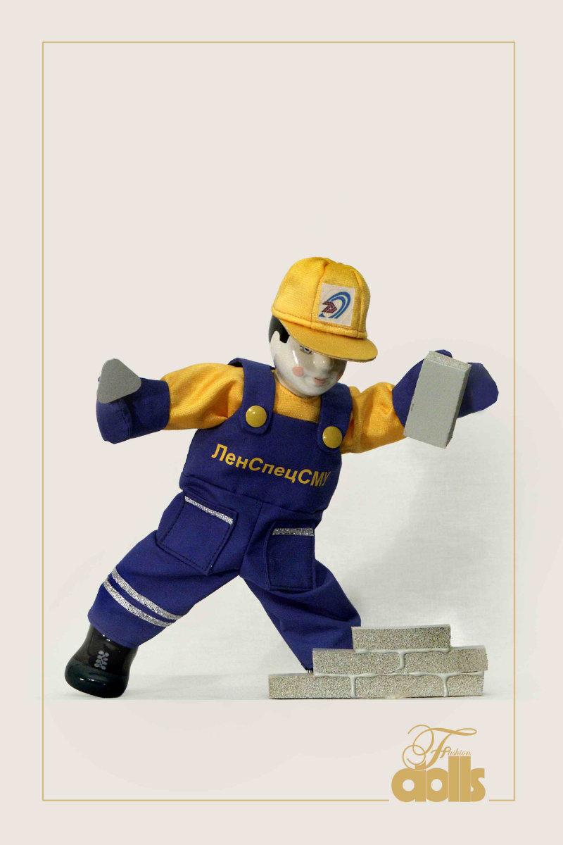кукла строитель