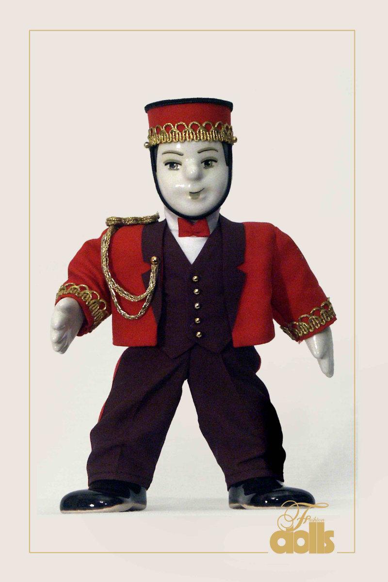 кукла швейцар