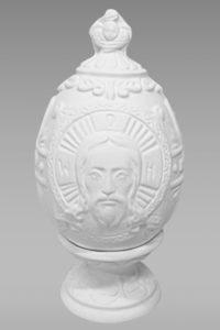 Ц-4 яйцо с рельефом иисус