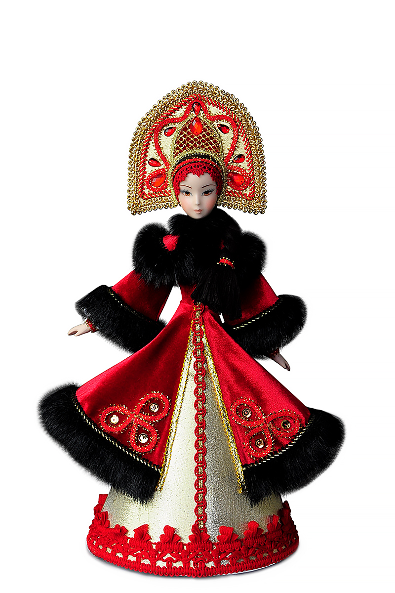 Русские куклы в народных костюмах кукла в кокошнике