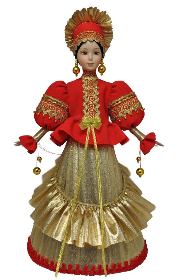 Русские народные куклы в народных костюмах кукла