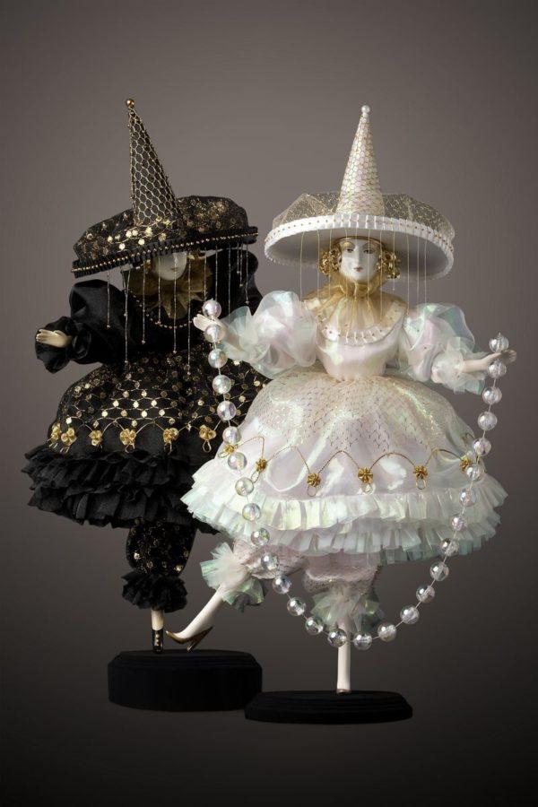 фарфоровые куклы интерьерные коллекционные коломбины