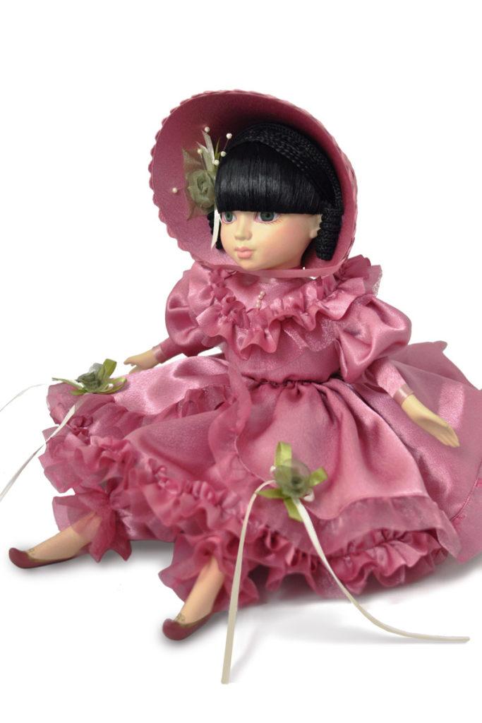фарфоровые куклы интерьерные малышка нарядная коллекционные