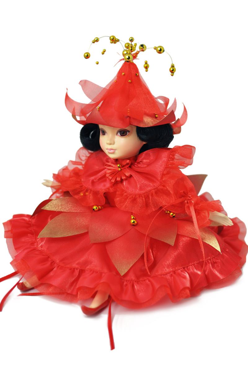 фарфоровые куклы интерьерные дюймовочка коллекционные