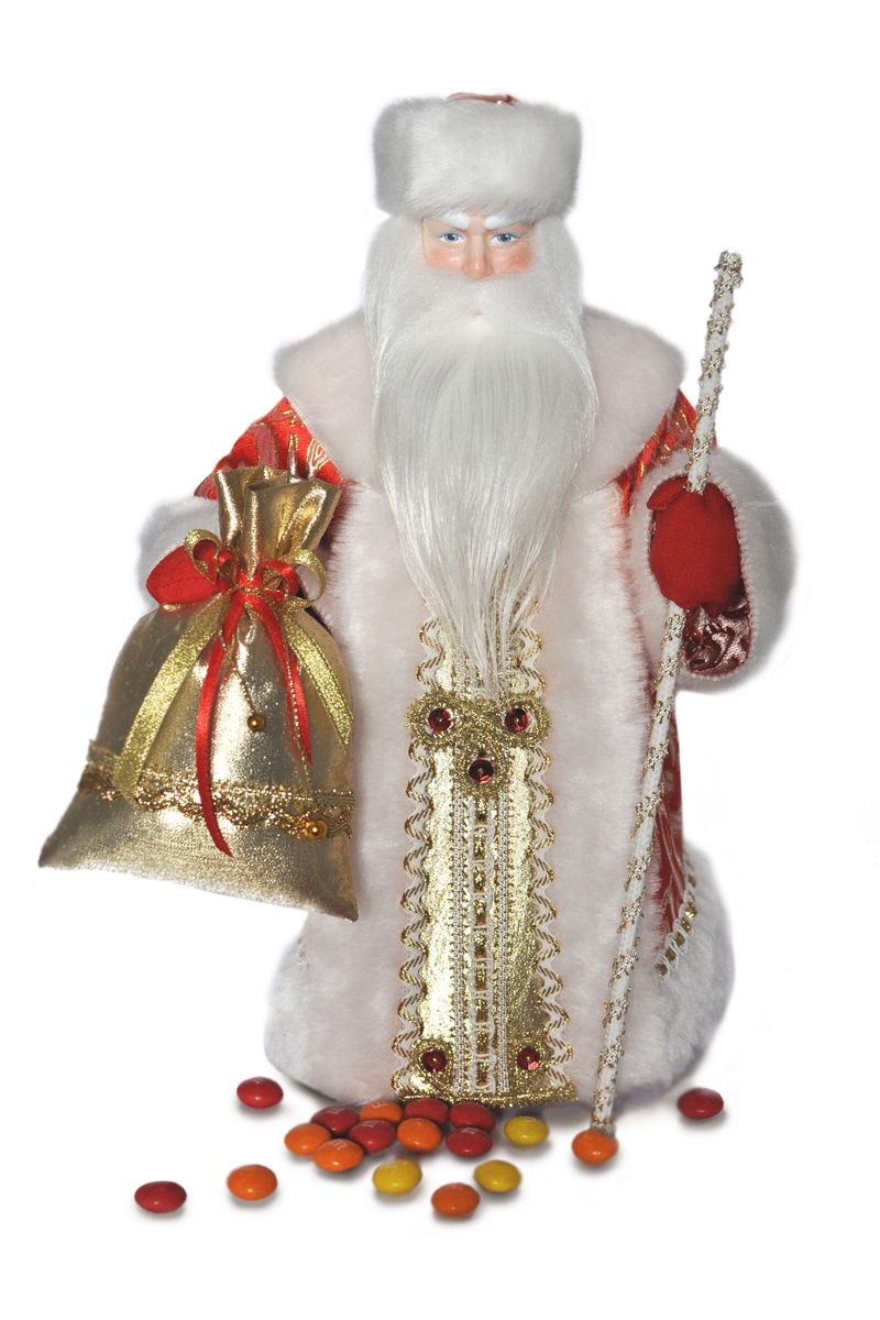 кукла дед мороз интерьерный фарфоровый