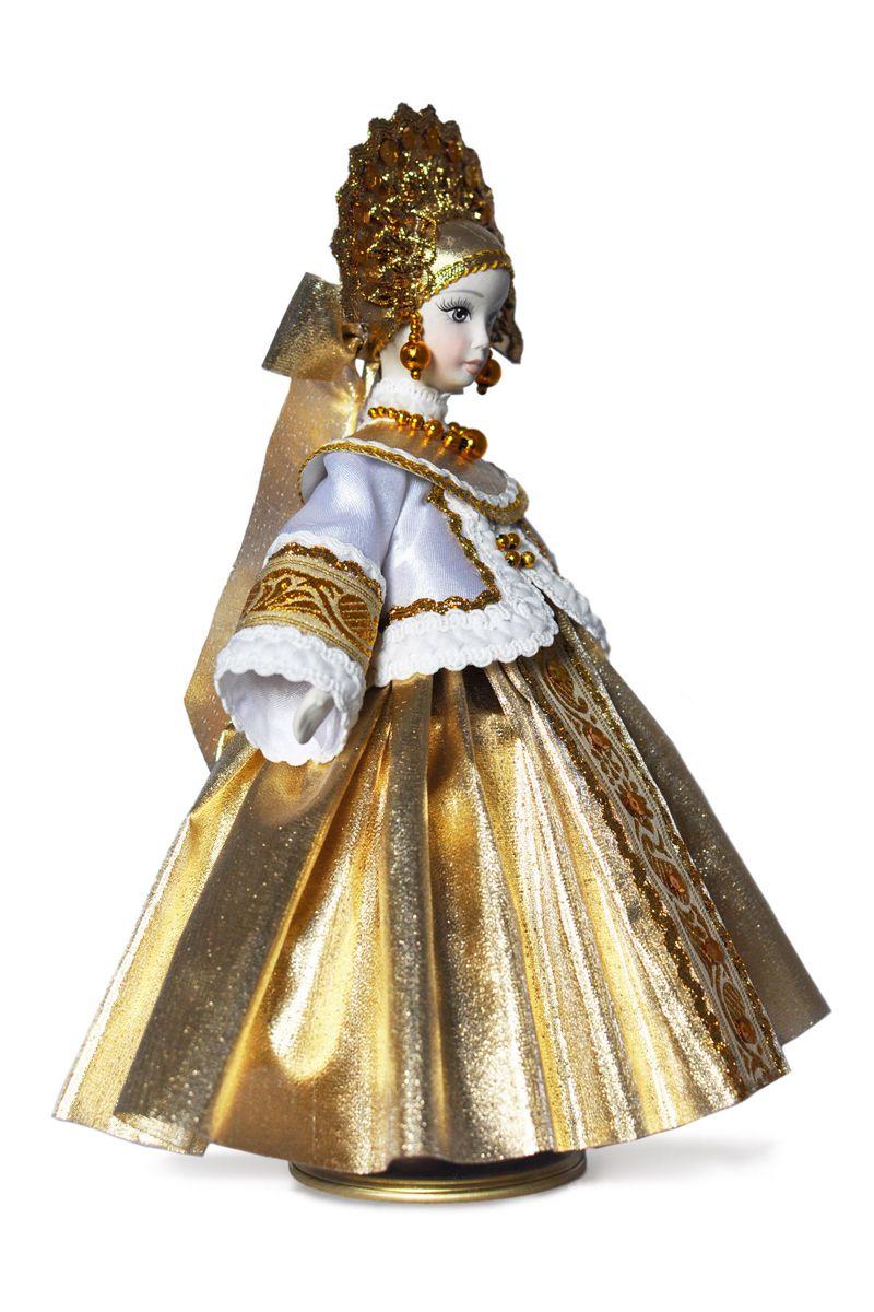 русские народные куклы в народных костюмах в кокошнике
