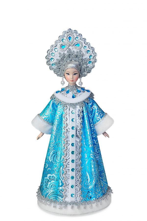 Кукла снегурочка интерьерная фарфоровая коллекционная