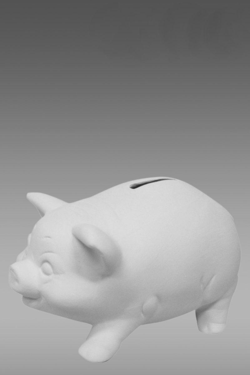 фарфоровые фигурки свинья копилка купить