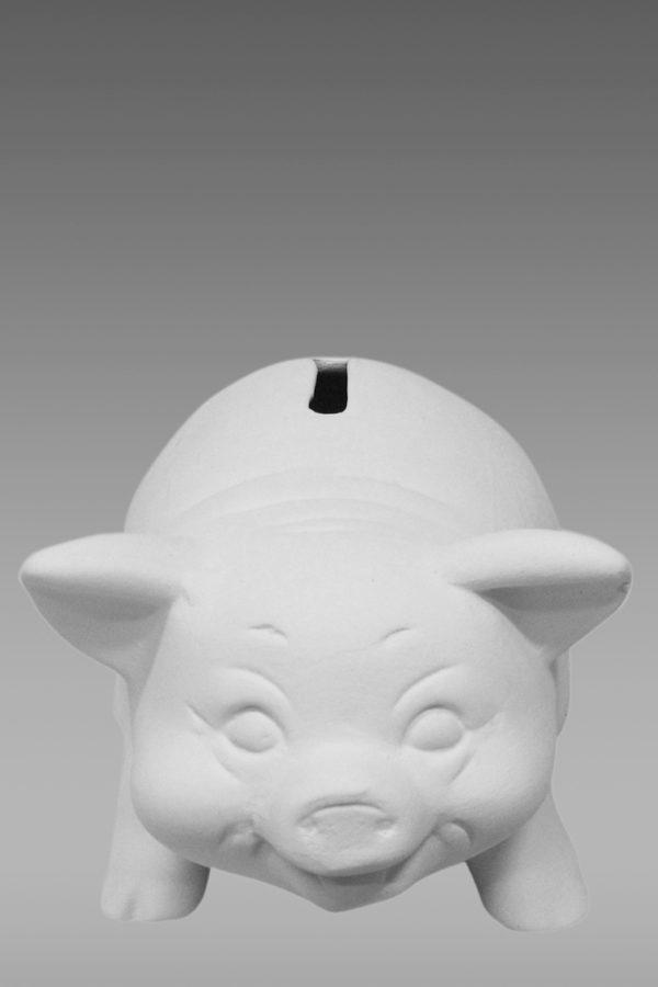 фарфоровые фигурки купить свинья копилка