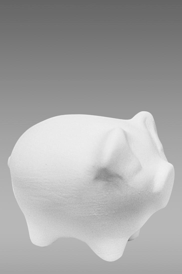 фарфоровые фигурки животных свинка
