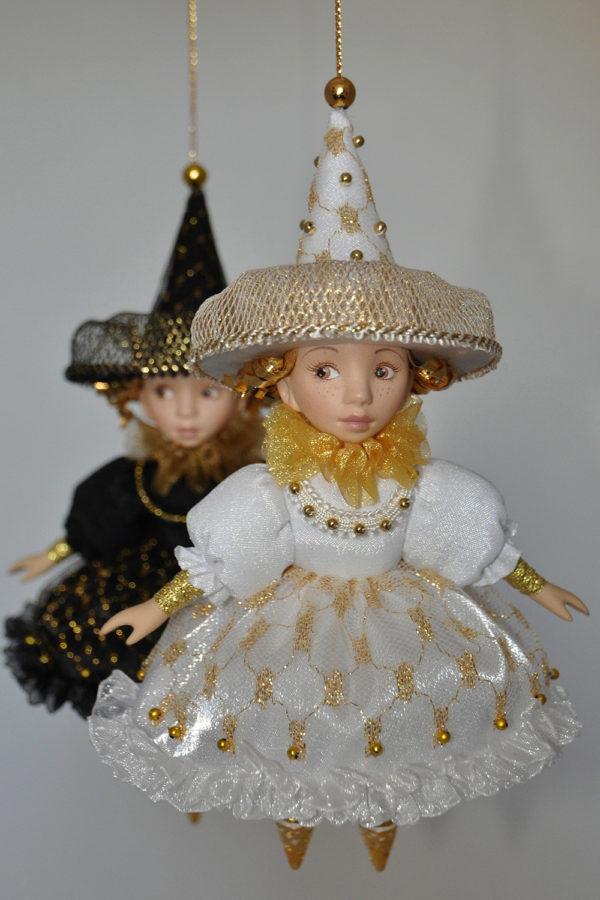 Подвесные ёлочные куклы