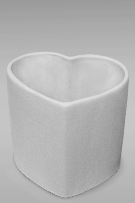 бокал кружка фарфоровая белая