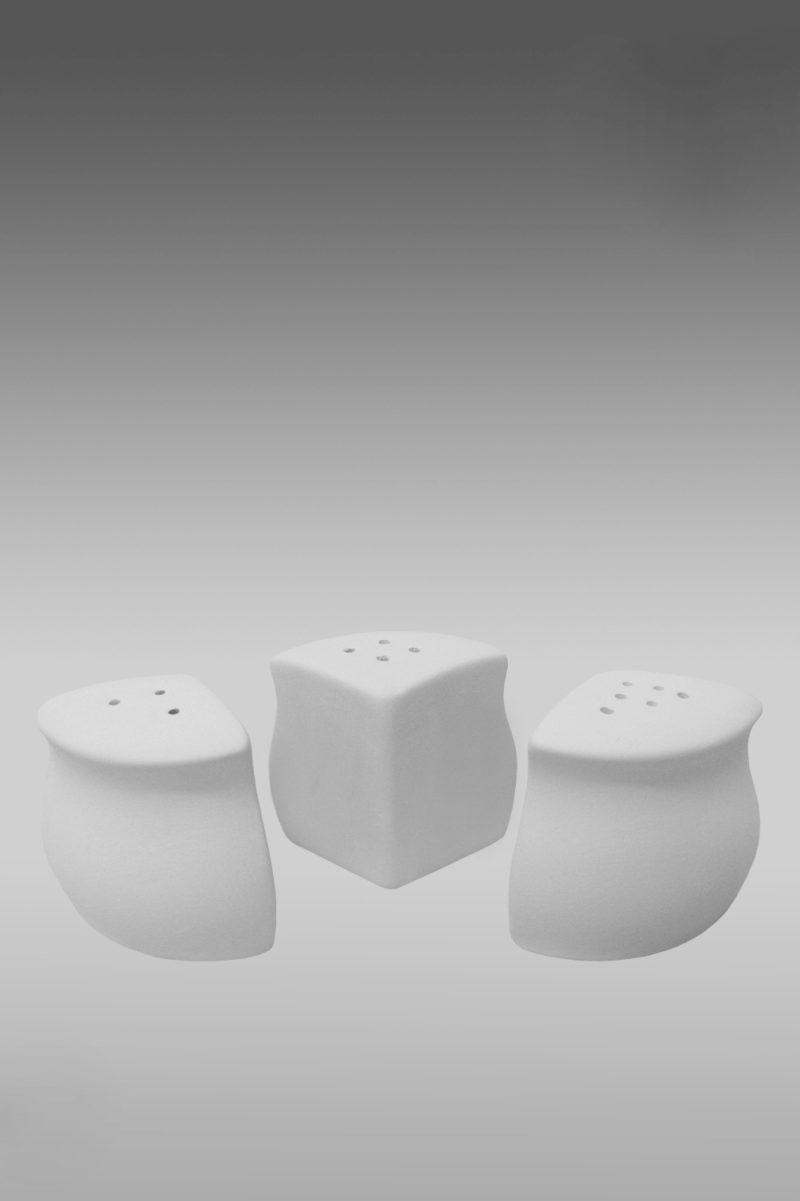 солонки фарфоровые белые