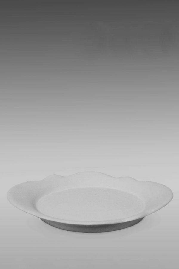 селедочница фарфоровая белая