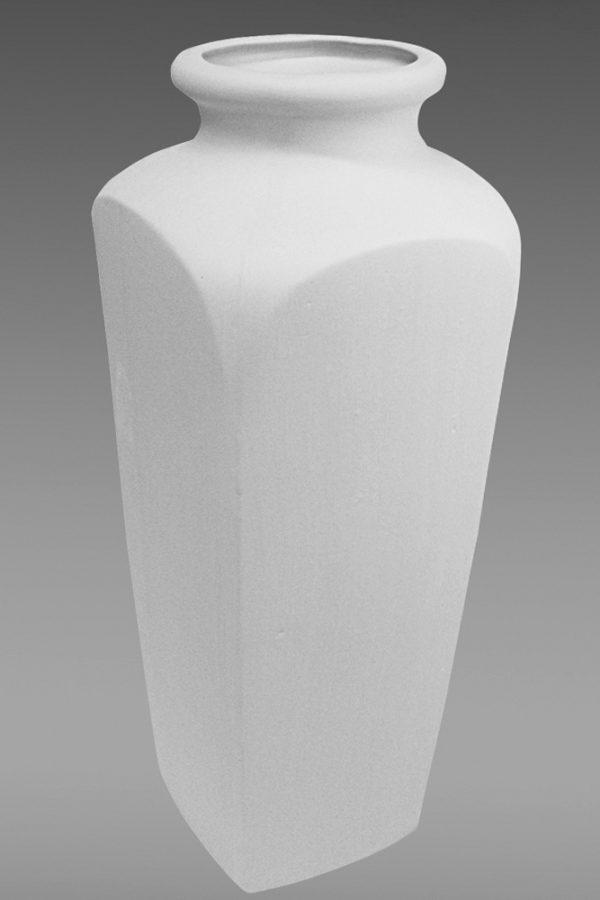 ваза фарфоровая белая
