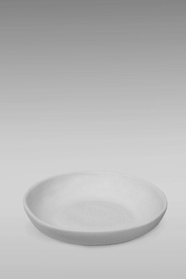 блюдце фарфоровое белое