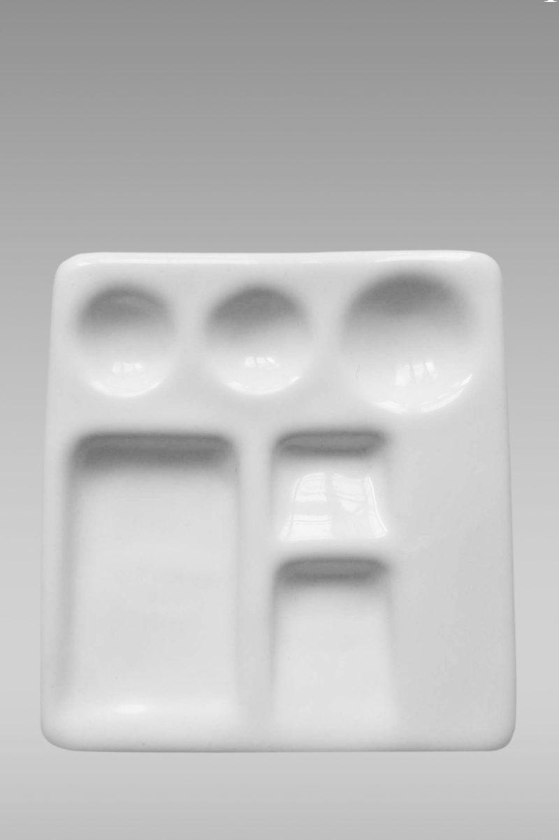 палитра фарфоровая белая