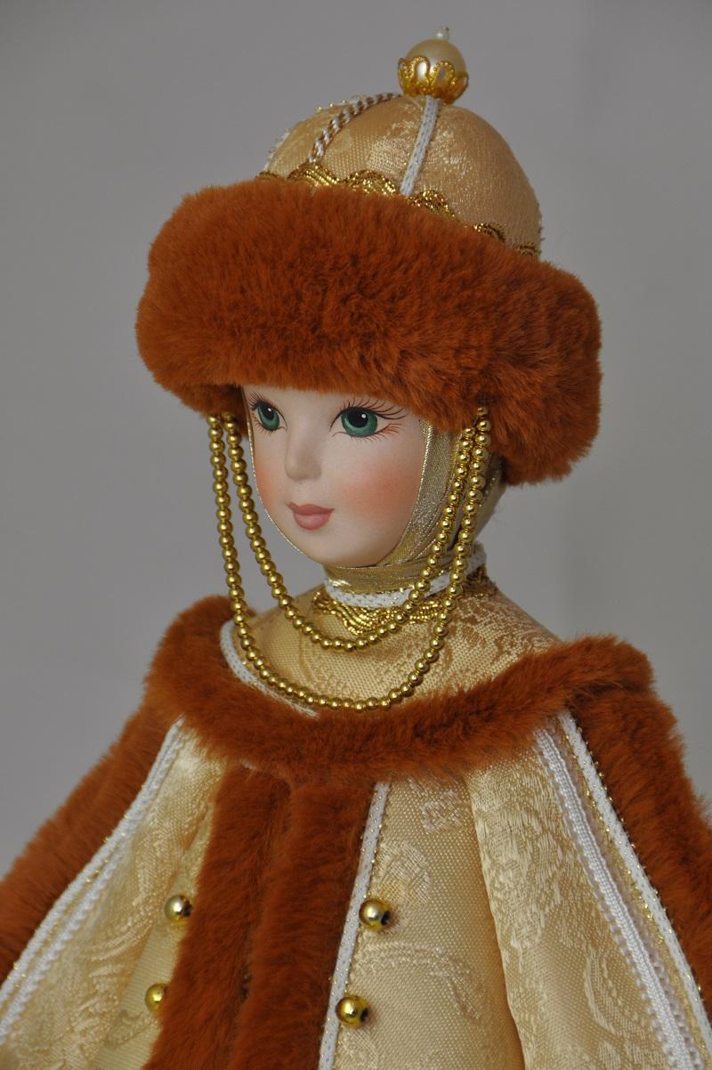 Славянские куклы в народных костюмах кукла княгиня