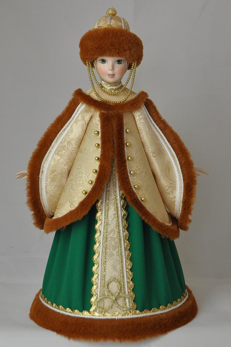 Русские народные куклы в народных костюмах кукла княгиня