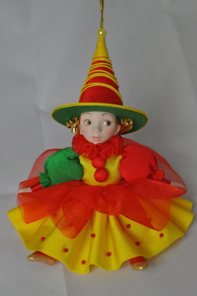 Интерьерная кукла коломбина фея купить