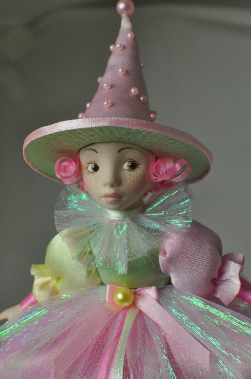 Интерьерная кукла коломбина купить