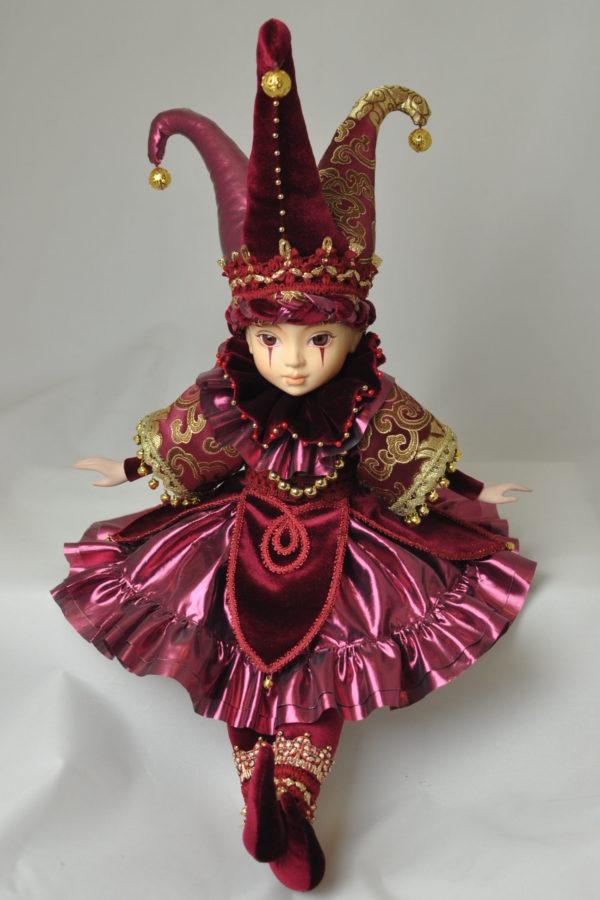 Сказочная кукла арлекин купить