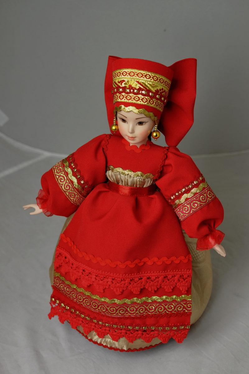 Кукла грелка на чайник купить