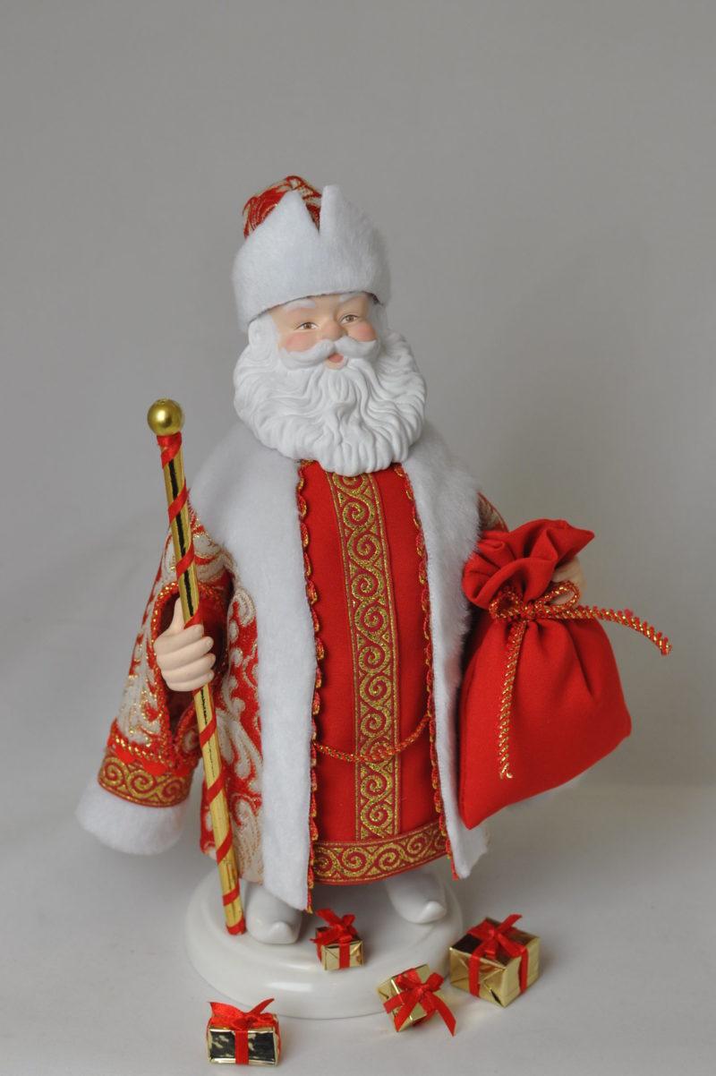 Кукла дед мороз сказочный купить