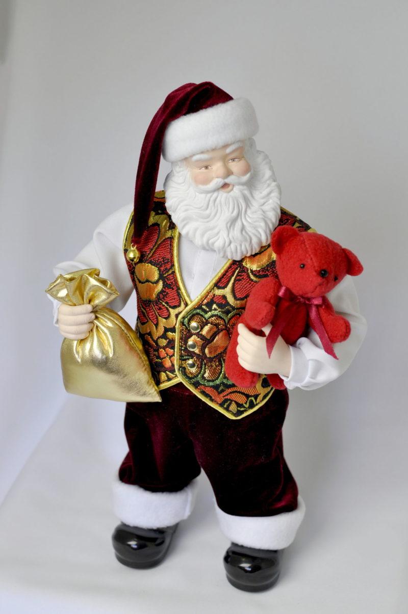 Санта Клаус кукла дед мороз купить