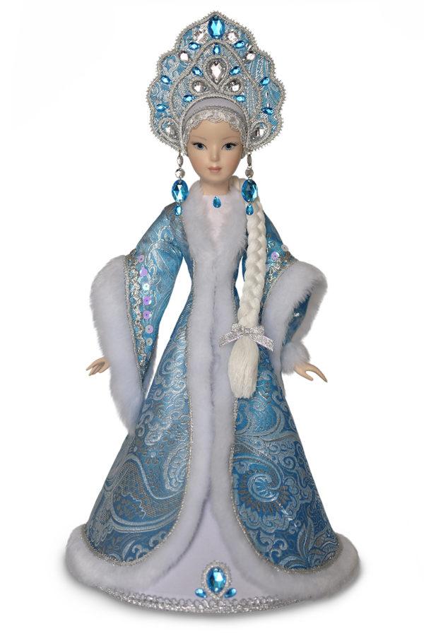 Кукла снегурочка. Интерьерная коллекционная кукла