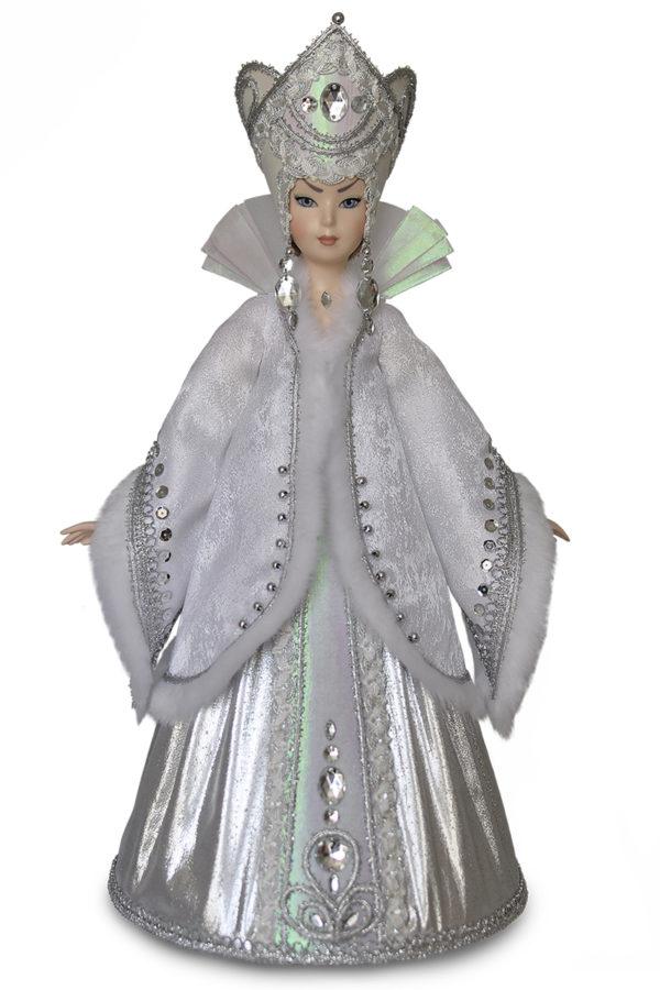 Кукла снежная королева. Интерьерная коллекционная кукла