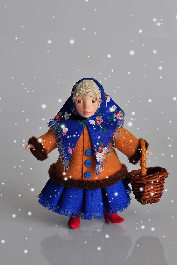 Интерьерная кукла Анфиса