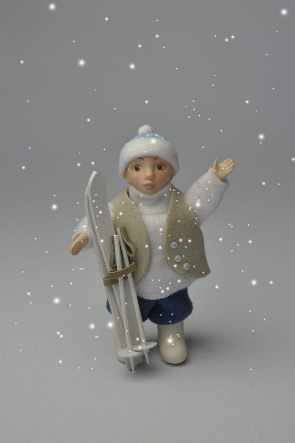 Интерьерная кукла Кай