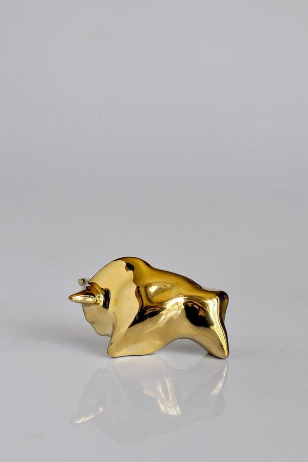 Бык золотой фигурка